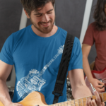 Guitar in Words T-Shirt