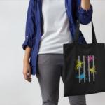 Flute Canvas Tote Bag