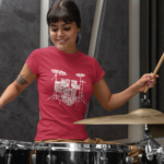Drums in Words T-Shirt