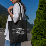 Beethoven Quote Tote Bag
