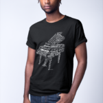 Grand Piano in Words T-Shirt