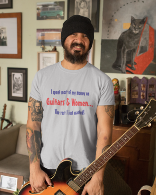 Guitars and Women T-shirt