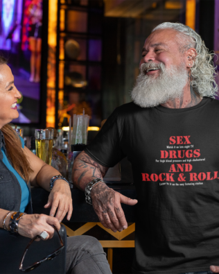 Sex, Drugs, and Rock and Roll T-shirt